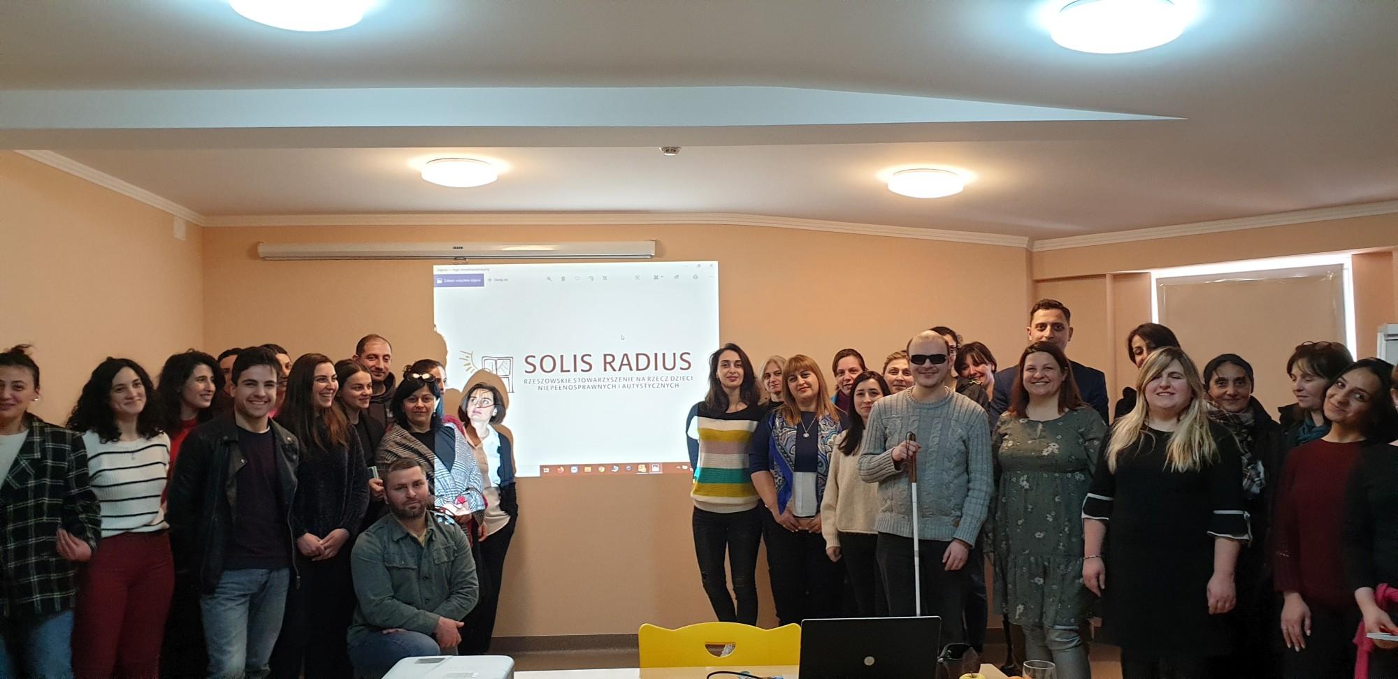 Wyjazd szkoleniowy w ramach wolontariatu do ośrodka Rehabilitation Center of Camillians w Gruzji.